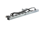 "24"" Rack Mount Power Strip With Eight 5-15R Outlets"