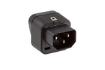 Universal to C14 Adapter, Black