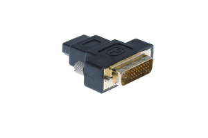 DVI-D Dual Link Male to HDMI Female Adapter