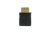 HDMI Male to Female Right Angle Adapter, Gold Plated