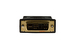 DVI-I Analog Male to VGA Female Adapter, Gold Plated Connectors