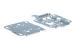 Cisco Aironet 1140 Series Wall/Ceiling Mount, AIR-AP1140MNTGKIT