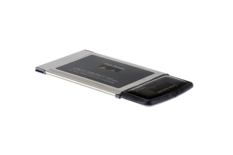 Cisco Aironet 340 Series PC Card Adapter, AIR-PCM342