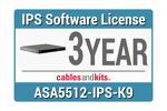 Cisco ASA 5512-X IPS; 3-year, ASA5512-NI3Y-K9