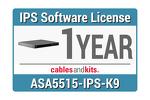 Cisco ASA 5515-X IPS; 1-year, ASA5515-NI1Y-K9