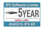Cisco ASA 5515-X IPS; 5-year, ASA5515-NI5Y-K9