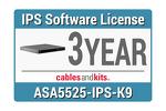 Cisco ASA 5525-X IPS; 3-year, ASA5525-NI3Y-K9