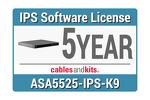 Cisco ASA 5525-X IPS; 5-year, ASA5525-NI5Y-K9