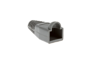 Ethernet Cable Boots - Grey, Qty 10
