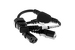 AC Power Cord, C14 Right to C13 (x2) Splitter Cable, 18 AWG, 14""