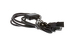 AC Power Cord, 5-15P to C13 (x3) Splitter Cable, 6'