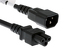 AC Power Cord, C14 to C5, 18 AWG, 12'