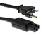 AC Power Cord, 6-15P to C15, 14 AWG, 8'