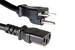 AC Power Cord, 6-15P to C13, 14 AWG, 3ft