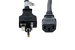 AC Power Cord, 6-20P to C13, 14 AWG, 8'