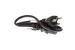 AC Power Cord, 5-15P to C13, 18 AWG, 2', Black
