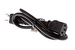 AC Power Cord, 5-15P to C13, 18 AWG, 3', Black
