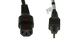 Automatic Locking AC Power Cord, 5-15P to C13, 18 AWG, 6'