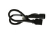 AC Power Cord, C13 to C14, 18 AWG, 2', Black