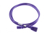 AC Power Cord, C13 to C14, 18 AWG, 6', Purple
