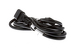 AC Power Cord, C13 to C14, 18 AWG, 7', Black