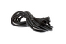 AC Power Cord, C13 to C14, 18 AWG, 8', Black
