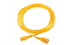 AC Power Cord, C13 to C14, 18 AWG, 2', Yellow