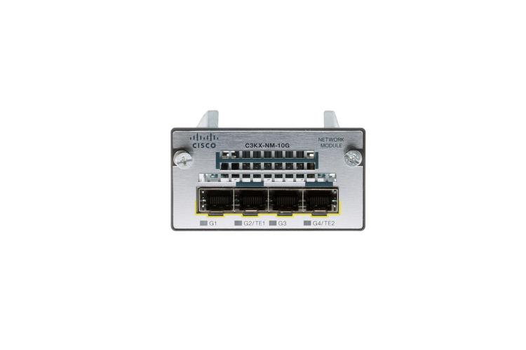 Cisco C3kx Nm 10g Network Module Catalyst 3560x 3750x