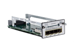 Cisco 3560X/3750X Four-Port Gigabit Ethernet Network Module, NEW