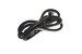 AC Power Cord, 5-15P to C13 Right Angle, 14 AWG, 6'