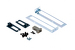 Cisco Catalyst 4900 Series Accessory Kit - Rack Kit, Cable Mgmt