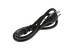 AC Power Cord, 5-15P to C13, 16 AWG, 3', Black
