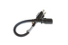 AC Power Cord, 5-15P to C13, 14 AWG, 1ft, Black