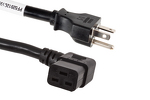AC Power Cord, 5-20P to C19 Right Angle, 12 AWG, 6ft