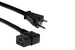 AC Power Cord, 5-20P to C19 Right Angle, 12 AWG, 8'