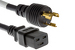 Cisco AC Power Cord, CAB-L520P-C19-US=, 8ft