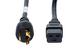 Cisco AC Power Cord, CAB-L520P-C19-US=, 15ft