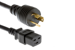 AC Power Cord, L6-15P to C19, 14 AWG, 14'