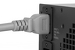 AC power cord, C20 to C19, 12 AWG, 4', Grey