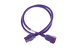 AC power cord, C20 to C19, 12 AWG, 4', Purple