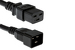 AC Power Cord, C20 to C19, 12 AWG, 12' Black