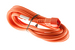 AC power cord, C14 to C19, 14 AWG, 10', Orange