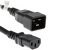 AC Power Cord, C20 to C13, 14 AWG, 1'