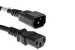 AC Power Cord, C13 to C14, 16 AWG, 10' Black
