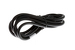 AC Power Cord, C13 to C14, 14 AWG, 8', Black