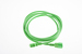 AC Power Cord, C13 to C14, 14 AWG, 10', Green