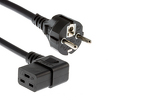 "AC Power Cord, European Plug ""Schuko"" CEE 7/7 to C19R, 3M"
