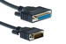 Cisco DB60 Male to DB25 Female RS232 DCE Cable, 10', CAB-232FC