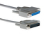 DB25 Male to DB25 Female Parallel Extension Cable, 6'