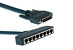 Cisco AS5350/5400 8 PRI DFC Cable, 3 Meter, CAB-DFC-OCT-3MF